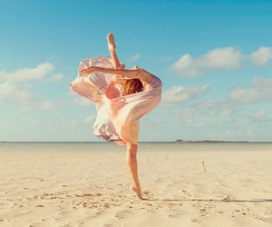 beach, beautiful, and Flying image