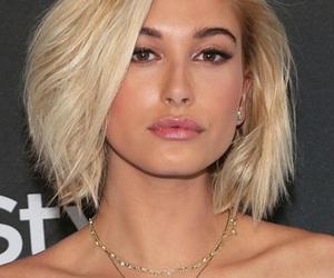 blonde, hailey baldwin, and hair image