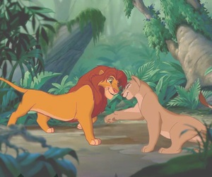 disney, lion king, and love image