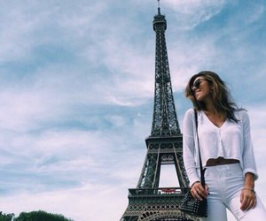paris, travel, and eiffel tower image
