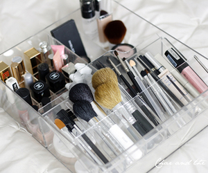 makeup, make up, and chanel image