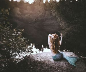 mermaid, fantasy, and Dream image