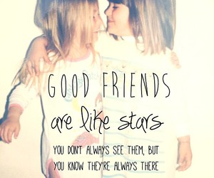 best friends and stars image