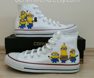 minions, shoes, and cute image