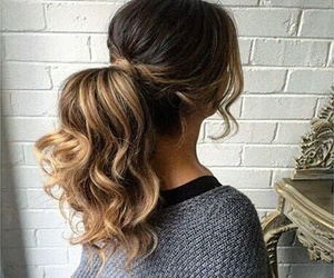 hairstyle, beauty, and fashion image
