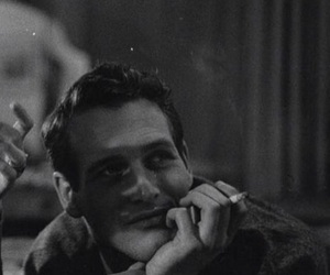 old hollywood, paul newman, and vintage image