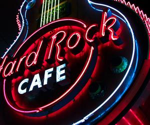 hard rock cafe, cafe, and hard rock image
