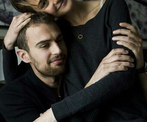 divergent, theo james, and Shailene Woodley image
