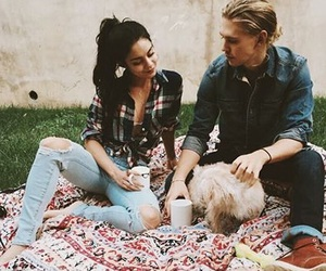 austin butler, couple, and vanessa hudgens image