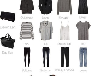 bags, clothe, and travel image