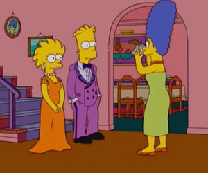 bart simpson, cartoons, and house image