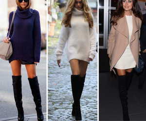 boots, fall, and over the knee image