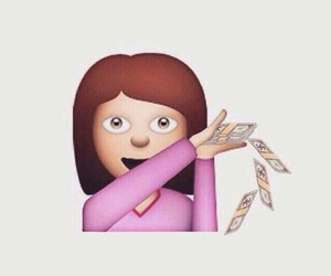 money, emoji, and funny image
