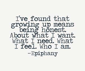 life, growing up, and quote image