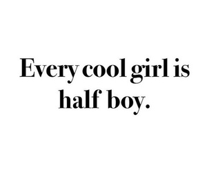 cool, girl, and quote image