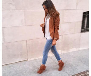 fashionista, jeans, and jacket image