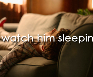 boy, him, and sleep image