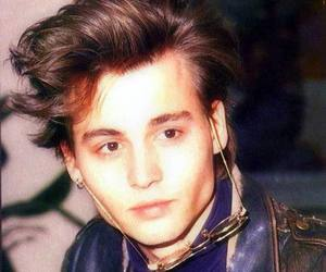 johnny depp, young, and depp image