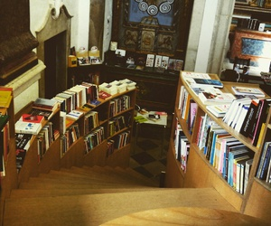 books, library, and life image