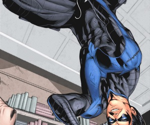 dick grayson and nightwing image