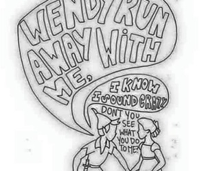 all time low, somewhere in neverland, and Lyrics image