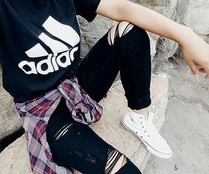 adidas, clothes, and nails image