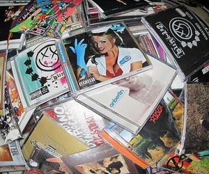 cd, anberlin, and blink-182 image