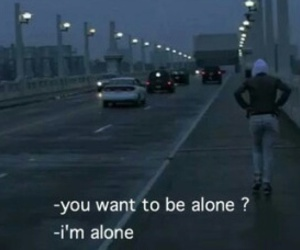 alone and sad image