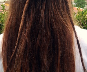 brunette, dreads, and rasta image