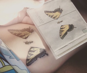 brand new eyes, paramore, and tatto image