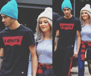 malik, perrie, and zayn image