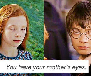 eyes, funny, and harry potter image