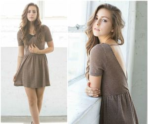 babydoll, backless, and sweater dress image