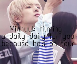 kpop, minhyuk, and imagines image
