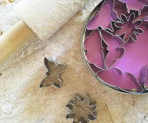 baking, cookie cutters, and diy image