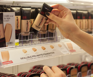 beauty, cosmetics, and Foundation image