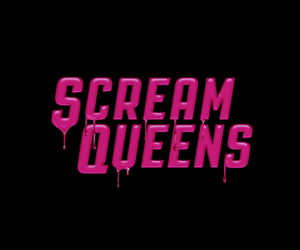 scream queens and pink image