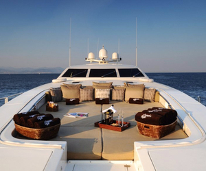 luxury, yacht, and summer image