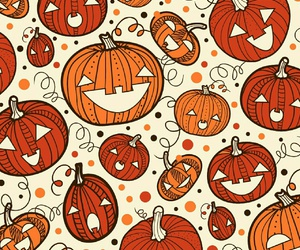 Halloween and pumpkin image