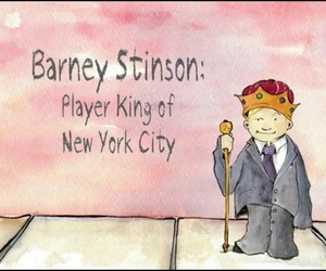 Barney Stinson, how i meet your mother, and player king image