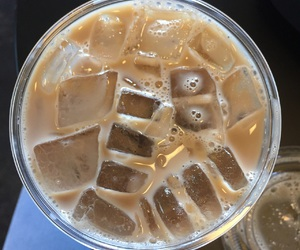 coffee, my picture, and iced image