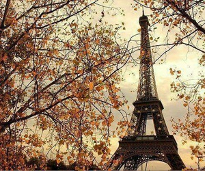 paris, autumn, and france image