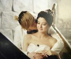 <3, we got married, and couple image