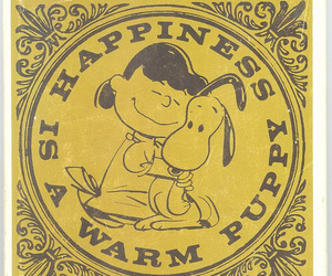 snoopy, puppy, and happiness image