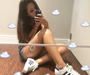 black, girl, and shoes image