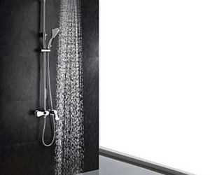 rainfall, shower faucets, and led faucets image