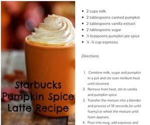 diy, latte, and starbucks image