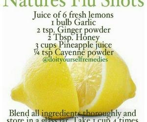 health, lemon, and remedy image