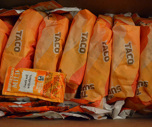 tacos, food, and taco bell image