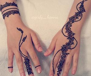 henna and mehndi image